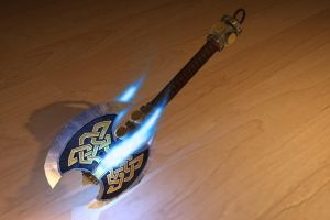 Dwarf Enchanted Axe by 3DPad
