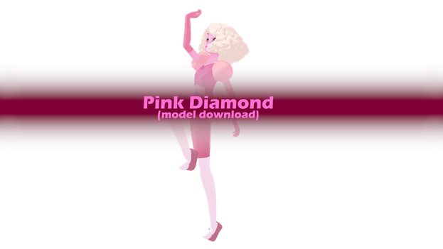 [MMD] Pink Diamond (model download) by VOCAD