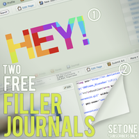 Filler Journal CSS - Set One by spud100
