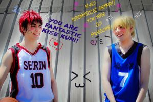 You're fantastic Kise-kun xD by Zabisco