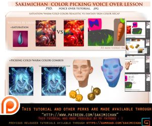 Color picking voice over tutorial .promo. by sakimichan