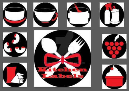 Corp ID Kitchen Set Logos by xHaimarux