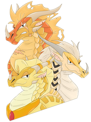 Three Queens by giratina135