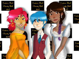 Collab:BH6:: The Fairest Stars In All The Heaven by C-RIE-ativity