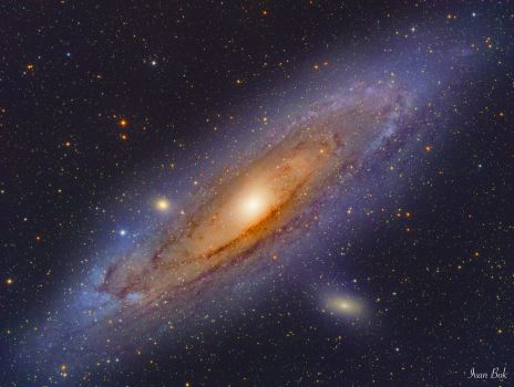 The Andromeda Galaxy by turbulentvortex