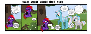 Blackwings Filly Comic 1 by spiritualraven