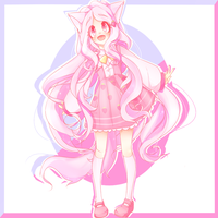 Contest Entry for Charikoko's *Draw my OC Contest* by xMadamexMintx