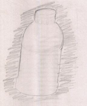 THIS IS A BOTTLE by GreyGreySilver