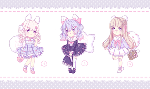 [OPEN 1/3] ~ Sailor Miffumis: Now Set Priced ~ by intheyuukei