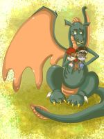 Dragon Express by lupienne