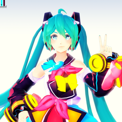 Jjinomu Style Magical Mirai Miku (Happy 11th Miku) by ROKI-P
