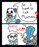 1- So I heard U liek Mijumaru? by Rhay-Robotnik