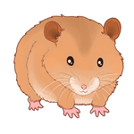 Happy Hamster by AltairSky