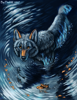 Cold water by FlashW