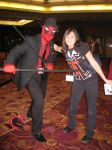 me with Dead pool by cat55
