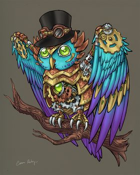 Mechanical Owl by Eliminate