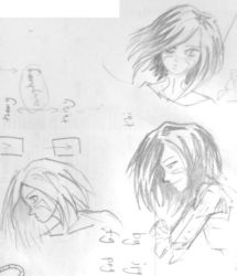 more Battle Angel scribbles + rant by dogtopus