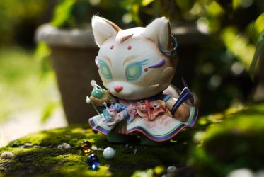 Cat Summoner by frecklefaced29