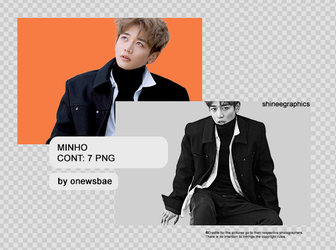 Minho | BW PNG by SHINeeEditions