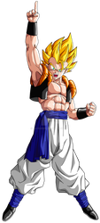 Commission (VECTOR): Gogeta by Raykugen