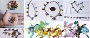 Eevee Evolution bracelets by LayzeMichelle
