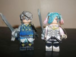 LEGO Fire Emblem Fates: Laslow and Peri by TommySkywalker11