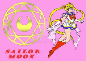 Super Sailor Moon by LadyLaui