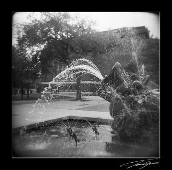 holga fountain by electricjonny