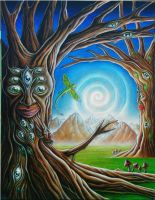 trees of unity by gabrielcharvit