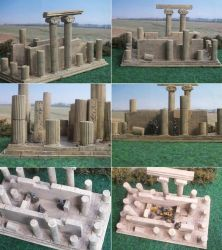 Scratch built greek temple ruin by Baryonyx62