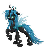 Queen Chrysalis by Ohemo