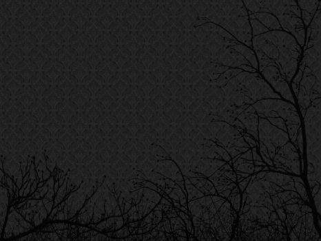 black wallpaper and trees by friedenlinde