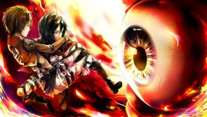 Attack on Titan by SnellSnail