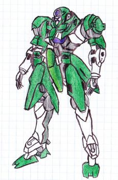 Ang's Green GN-X III by IrkenPainter