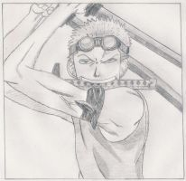 Zoro Sketch by 1Meh1