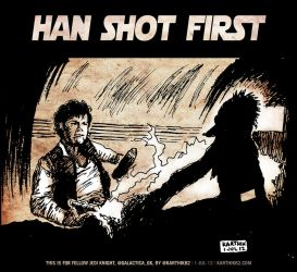 Han Shot First by karthik82