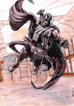 Darth Vader Commission LFCC by kevinenhart