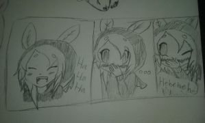 Laugh track (mini comic(?)) by Shimmering-Moon