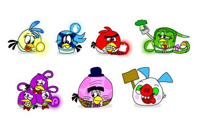 Angry Birds Inside Out by AngryBirdsStuff