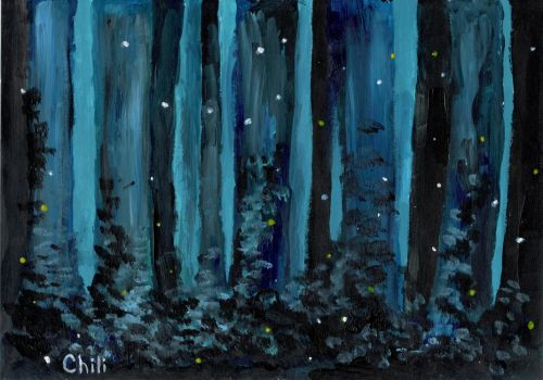 Mysterious forest by Elizabetchi