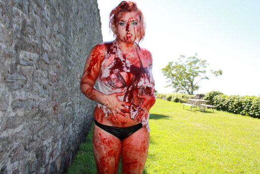 Glamour Gore II by SarahTriceratops