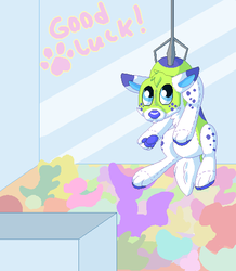Finished YCH: Fizzle by Funny-arts