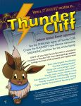 Thunder Cliff Poster by MeMiMouse