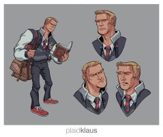 GS - Topher by plaidklaus