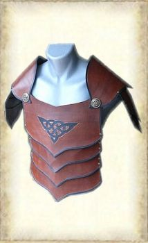 Leather armour 003-0 by Eternal-designs-com