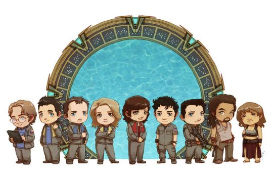 Stargate Atlantis [commission] by JoannaJohnen