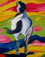 inspired by franz marc by msholly