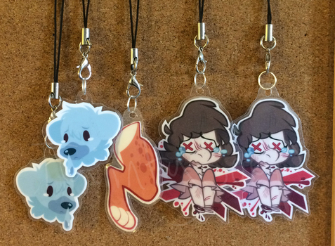 DIY Laminated Charms by TaiintySoup