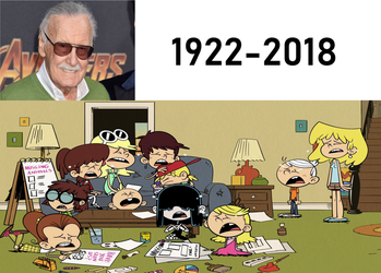 The Loud Kids Crying at Stan Lee's Death by TheLoudHouse1998