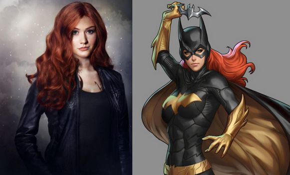 Katherine McNamara as Barbara Gordon by BlackBatFan